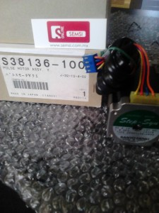 S38136-100 PULSE MOTOR ASSY, Y, BROTHER